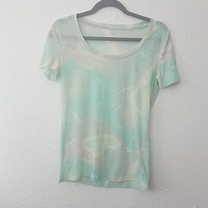 BDG Medium watercolor tshirt birds short Sleeve